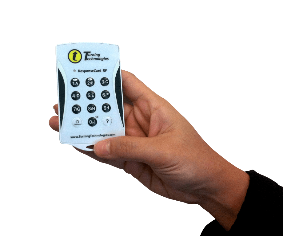 Turning Technologies Voting Keypads